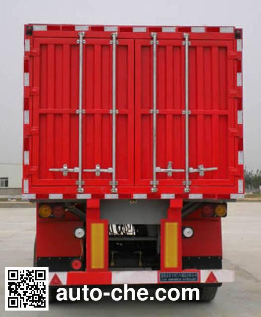 Jinbi PJQ9401XXY box body van trailer