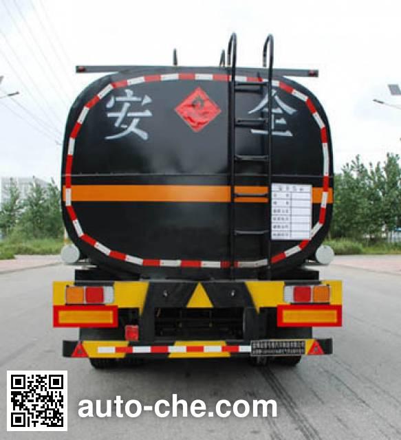 Jinbi PJQ9403GRYH flammable liquid tank trailer