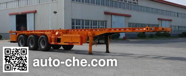 Jinbi PJQ9406TJZD container transport trailer