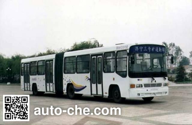 安源牌PK6150铰接客车