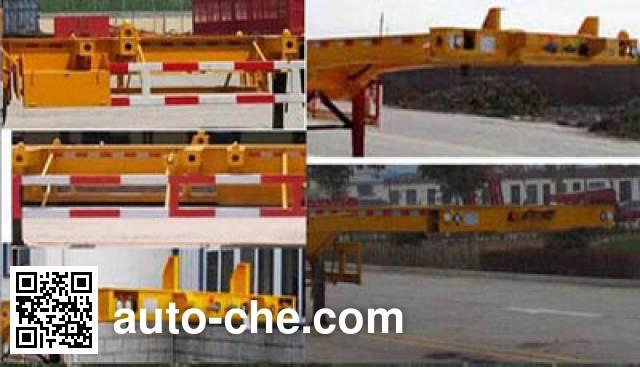 迅驰牌PXC9401TJZ集装箱运输半挂车