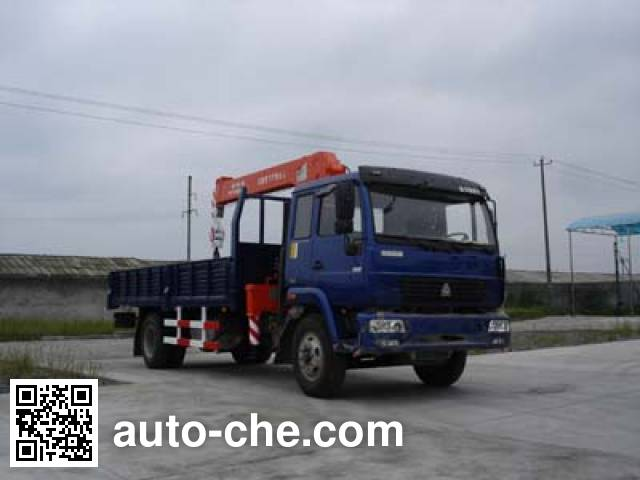 Puyuan PY5123JSQ truck mounted loader crane