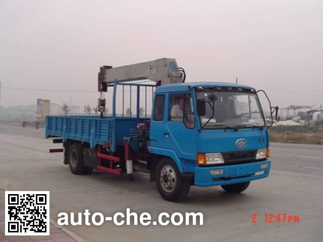 Puyuan PY5142JSQ truck mounted loader crane