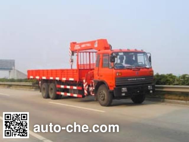 Puyuan PY5252JSQE truck mounted loader crane