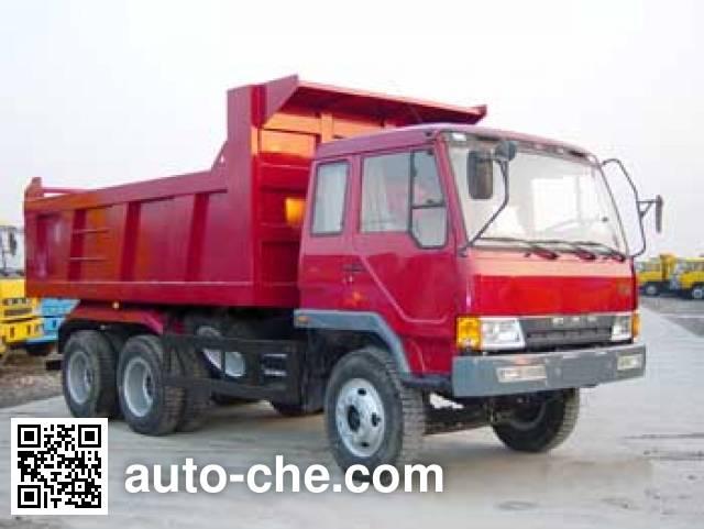 琴岛牌QD3251P1K2T1平头柴油自卸车