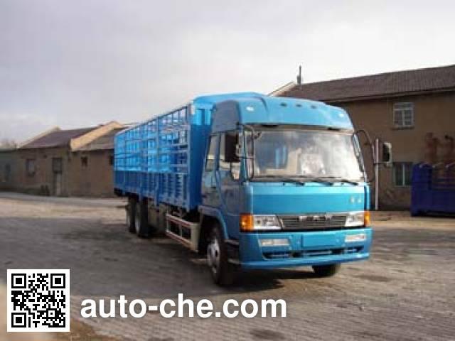 琴岛牌QD5250XXYL7T1-1仓栅式厢式运输车