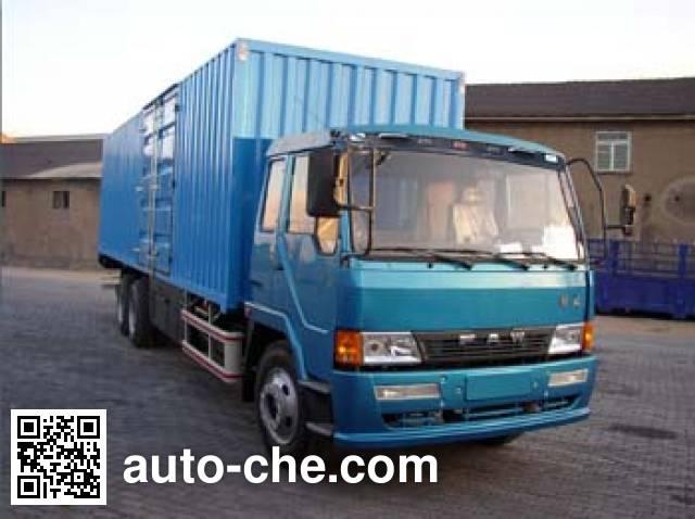 琴岛牌QD5251XXYP1K2L7T1-3厢式运输车