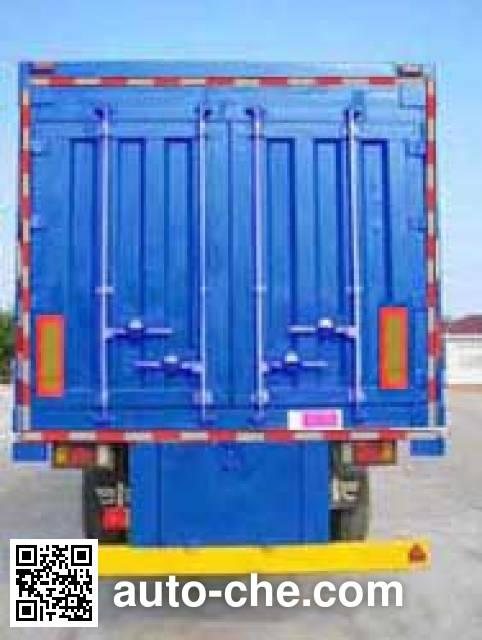 Tianxiang QDG9380XXY box body van trailer