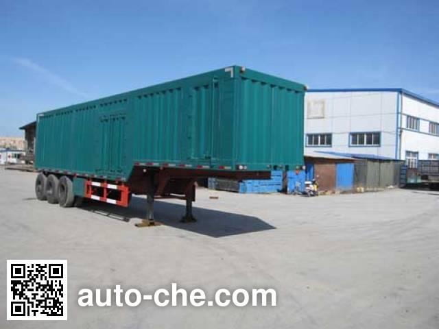 Tianxiang QDG9400XXY box body van trailer