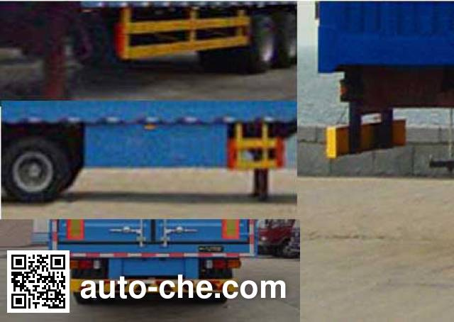 Tianxiang QDG9407XXY box body van trailer
