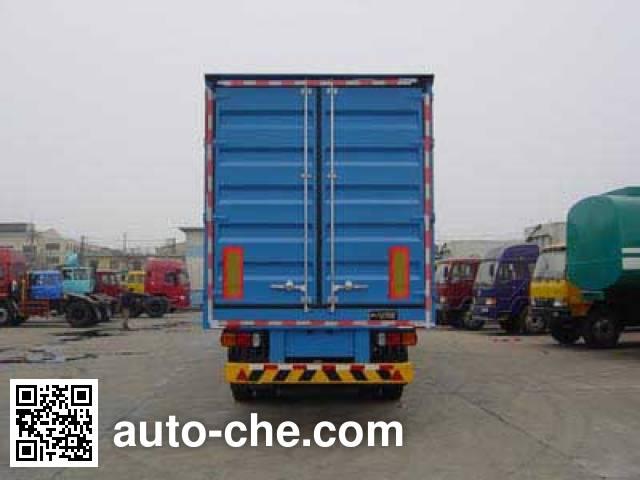 Tianxiang QDG9408XXY box body van trailer