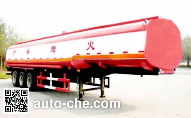 Huachang QDJ9290GYY oil tank trailer