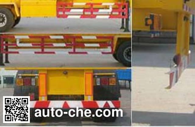 Huachang QDJ9370TJZG container transport trailer