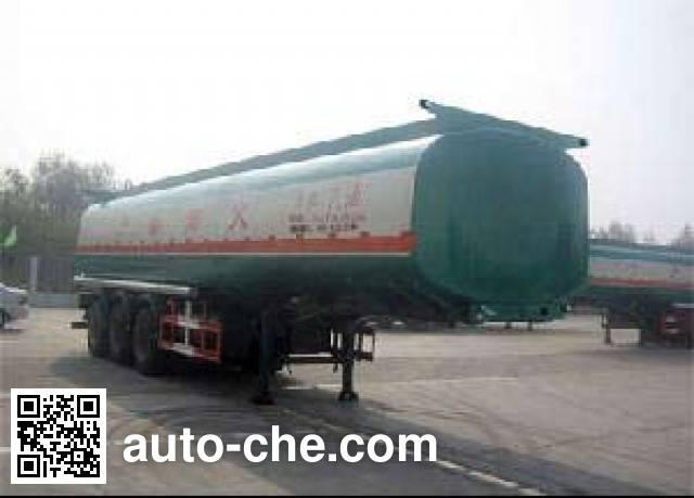 Huachang QDJ9390GYY oil tank trailer