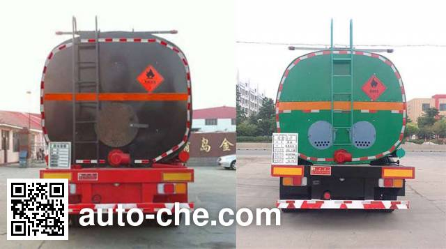 Huachang QDJ9400GLY liquid asphalt transport tank trailer