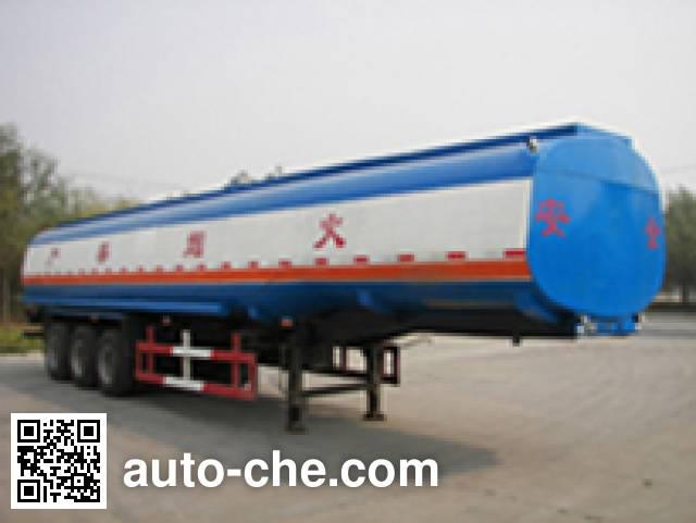 Huachang QDJ9400GYY oil tank trailer