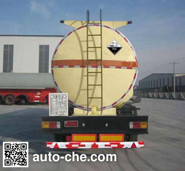 华昌牌QDJ9401GFW腐蚀性物品罐式运输半挂车