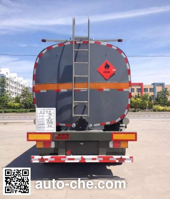 Huachang QDJ9406GRYA flammable liquid tank trailer