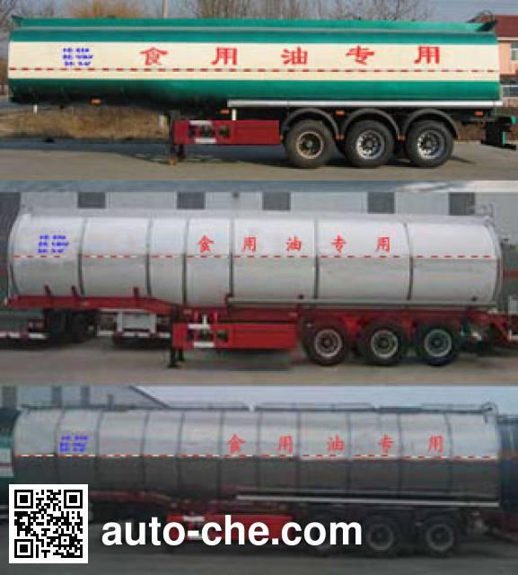 Huachang QDJ9401GYS liquid food transport tank trailer