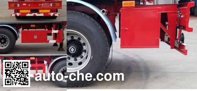 Huachang QDJ9402GLY liquid asphalt transport tank trailer