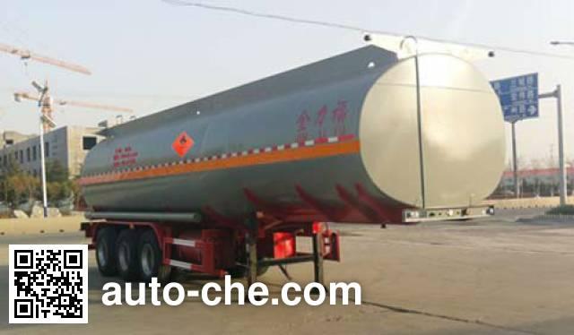 Huachang QDJ9406GYY oil tank trailer