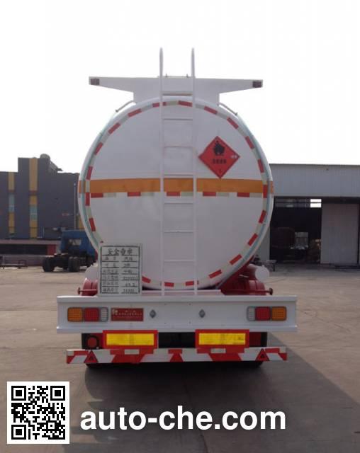 Huachang QDJ9407GYY oil tank trailer