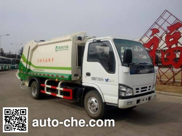 Qingte QDT5071ZYSJ garbage compactor truck