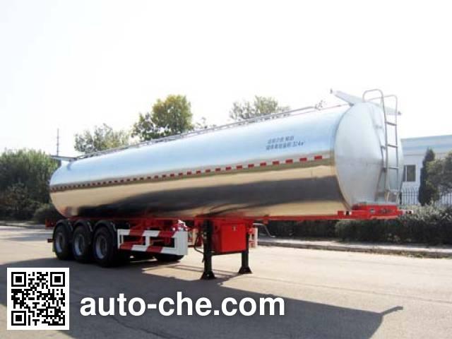 青特牌QDT9402GNY鲜奶运输半挂车