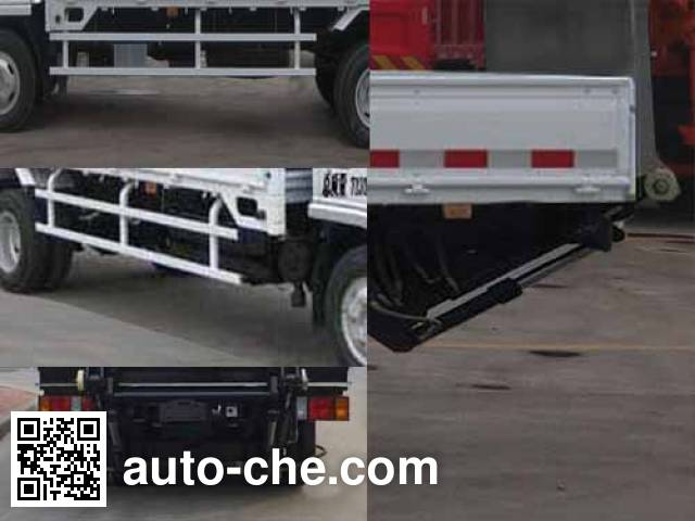 Qingzhuan QDZ5070CTYLWD trash containers transport truck