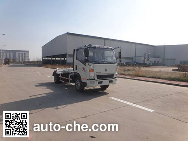 Qingzhuan QDZ5070ZXXZHL2MD1 detachable body garbage truck