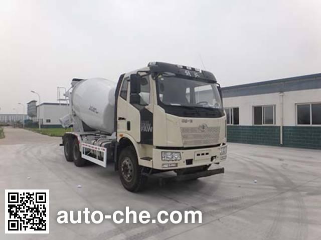 青专牌QDZ5250GJBCJE混凝土搅拌运输车