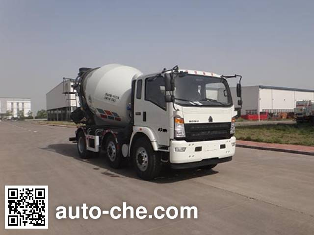 青专牌QDZ5250GJBZHG3WE1混凝土搅拌运输车