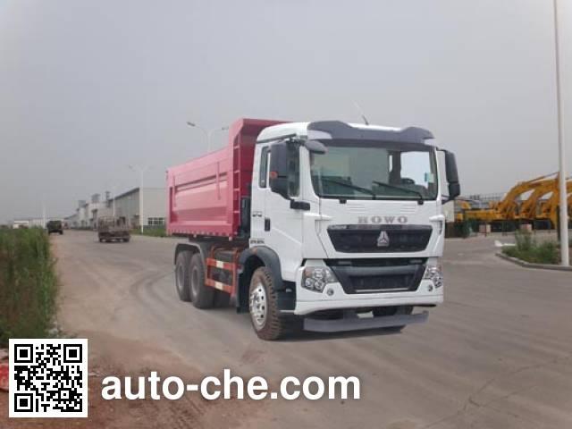 Qingzhuan QDZ5250ZLJZHT5G36 dump garbage truck