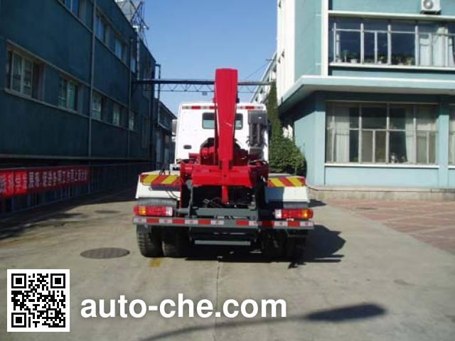 Qingzhuan QDZ5250ZXXZH detachable body garbage truck