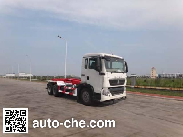 青专牌QDZ5250ZXXZHT5G车厢可卸式垃圾车