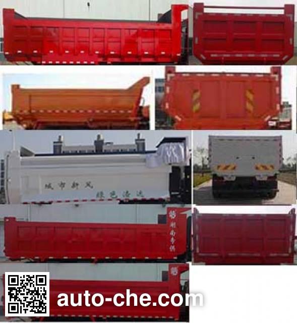 Qingzhuan QDZ5310ZLJCJ34D1 dump garbage truck