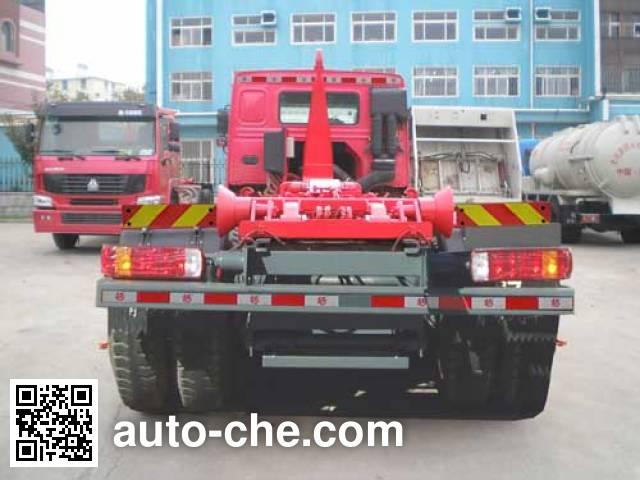 Qingzhuan QDZ5310ZXXZH detachable body garbage truck