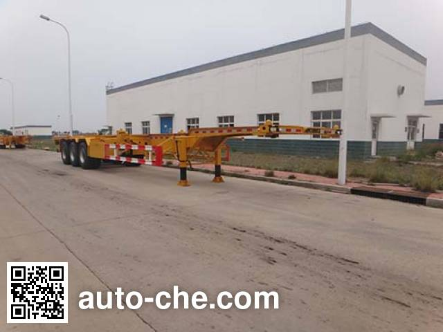 Qingzhuan QDZ9402TJZ container transport trailer