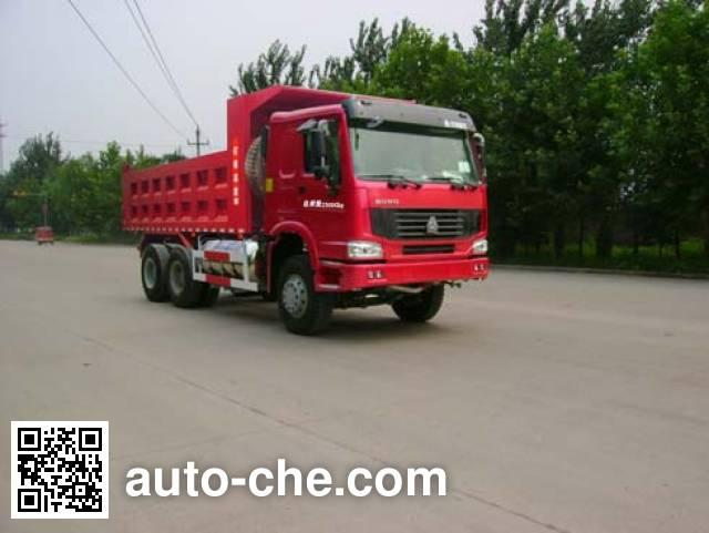 Jinzhuo QFT3250ZXE-ZZ dump truck