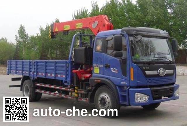 Wodate QHJ5160JSQA truck mounted loader crane
