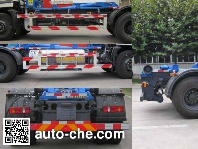 沃达特牌QHJ5161ZXXN5车厢可卸式垃圾车