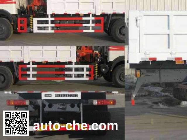 Wodate QHJ5257JSQ truck mounted loader crane