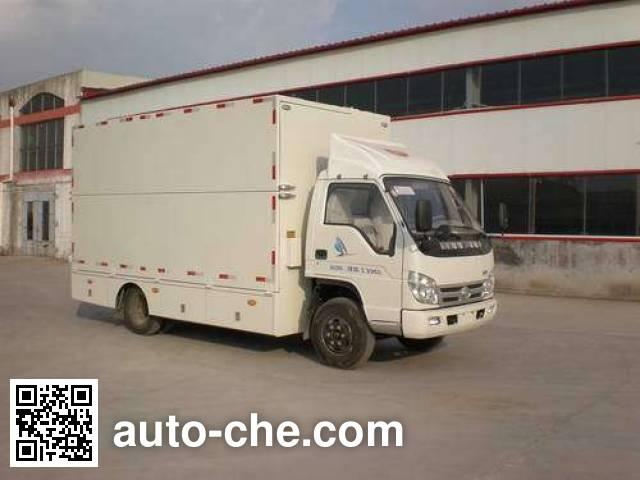 Jinma QJM5040XWT mobile stage van truck