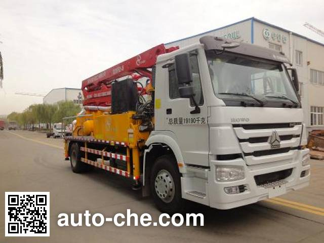 Jinma QJM5191THB concrete pump truck