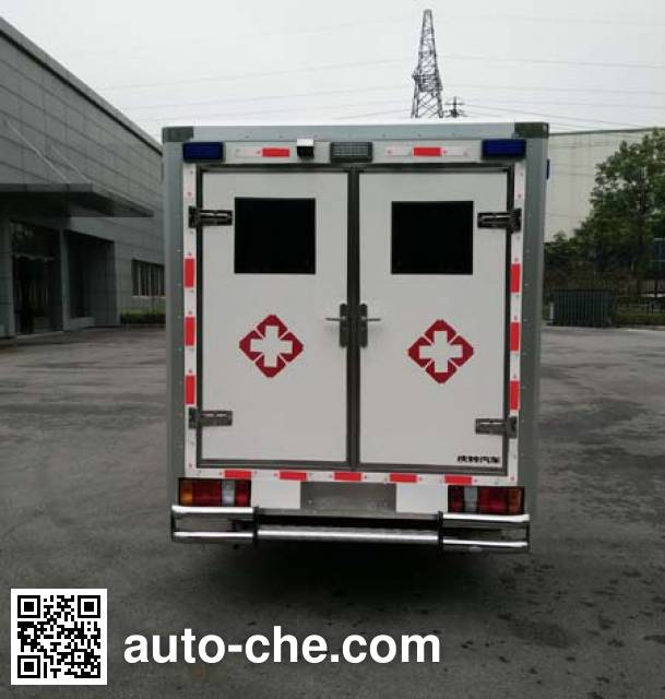 Qingling Isuzu QL5032XJHBWWSJ автомобиль скорой медицинской помощи