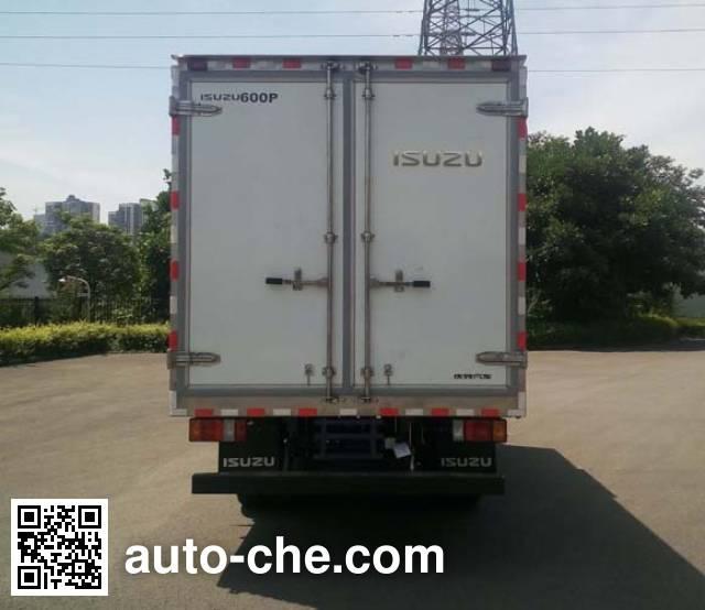 五十铃牌QL5040XLCA5HA冷藏车