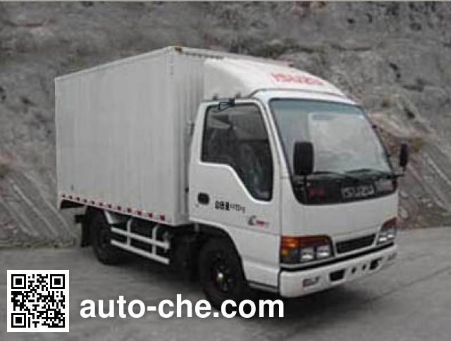 Qingling Isuzu QL5040XXY3EARJ box van truck
