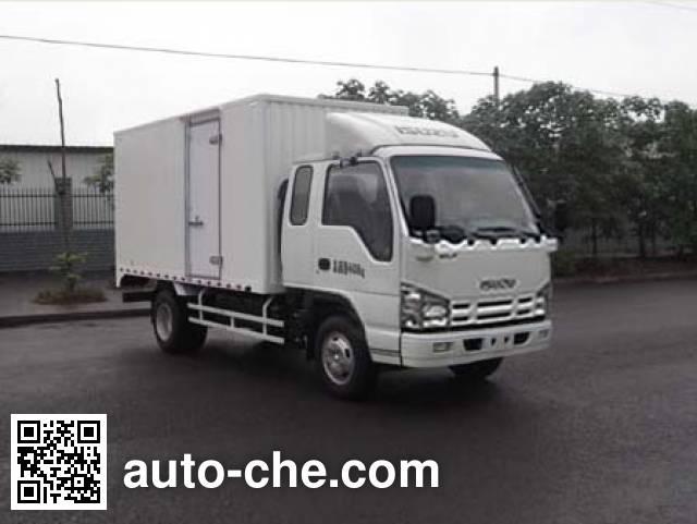 Qingling Isuzu QL5040XXY3HHRJ box van truck