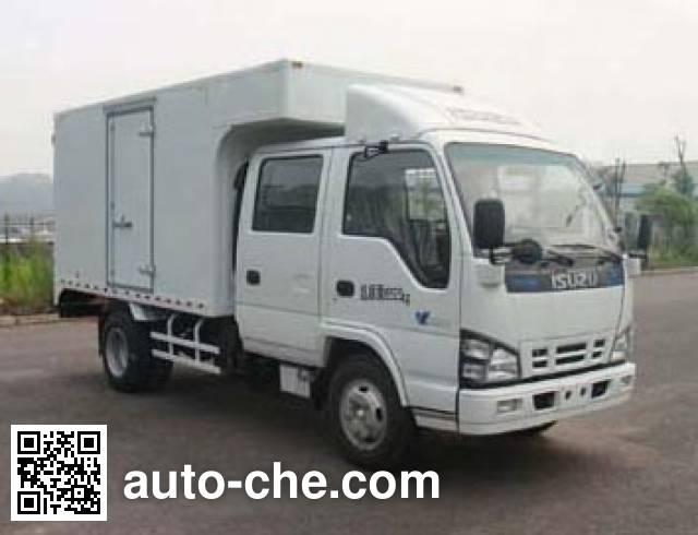 Qingling Isuzu QL5040XXYA1HWJ box van truck