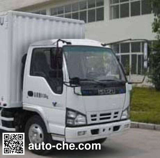 Qingling Isuzu QL5040XXYA7HAJ box van truck